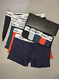 Мужские трусы боксеры и носки (5 шт.) + носки (9 пар).(в подарочных коробках. Трусы  боксеры шорты 7, фото 2