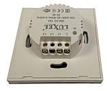 Умный выключатель двойной WIFI LUXEL SM-02 220V 10A, фото 3