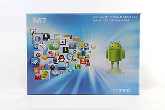 Планшет Ipad Samsung M7 Черный 2Sim +2Ядра+BT+GPS +ЧЕХОЛ