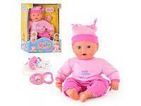 Интерактивная кукла-пупс «Мила» первый зубик