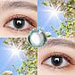Цветные контактные линзы Зеленый + мультиколор, фото 2