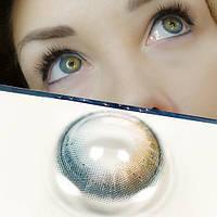 Цветные контактные линзы Зеленый + Коричневый