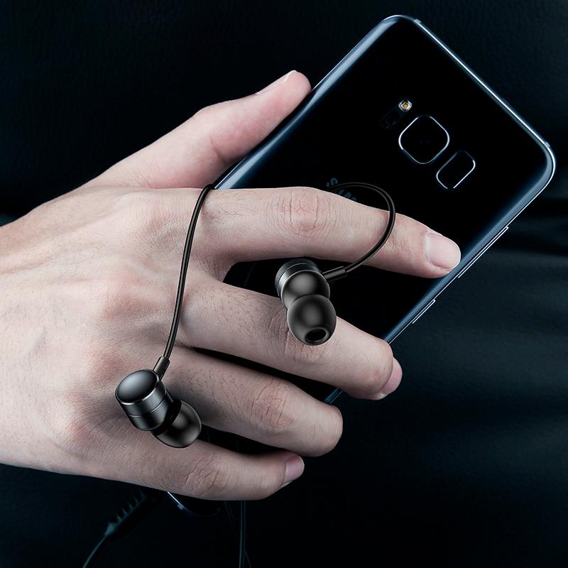 Навушники Baseus H04 black