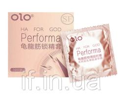 Ультратонкі презервативи OLO Performa з гілауроной кислотою в якості змазки 10 шт