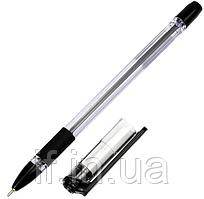 Ручка масляна Hiper Fine Tip -111 (0.7 мм) чорна, 10 шт./уп. ш.к. 8906050364371