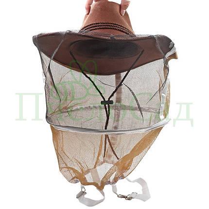 Маска пчеловода Ковбойская, с подтяжками, фото 2