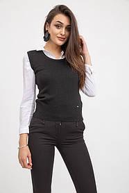 жилет жіночий мода колір Чорний