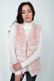 Жилет жіночий мода колір Пудровий