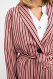 Жакет женский мода цвет Пудровый, фото 5