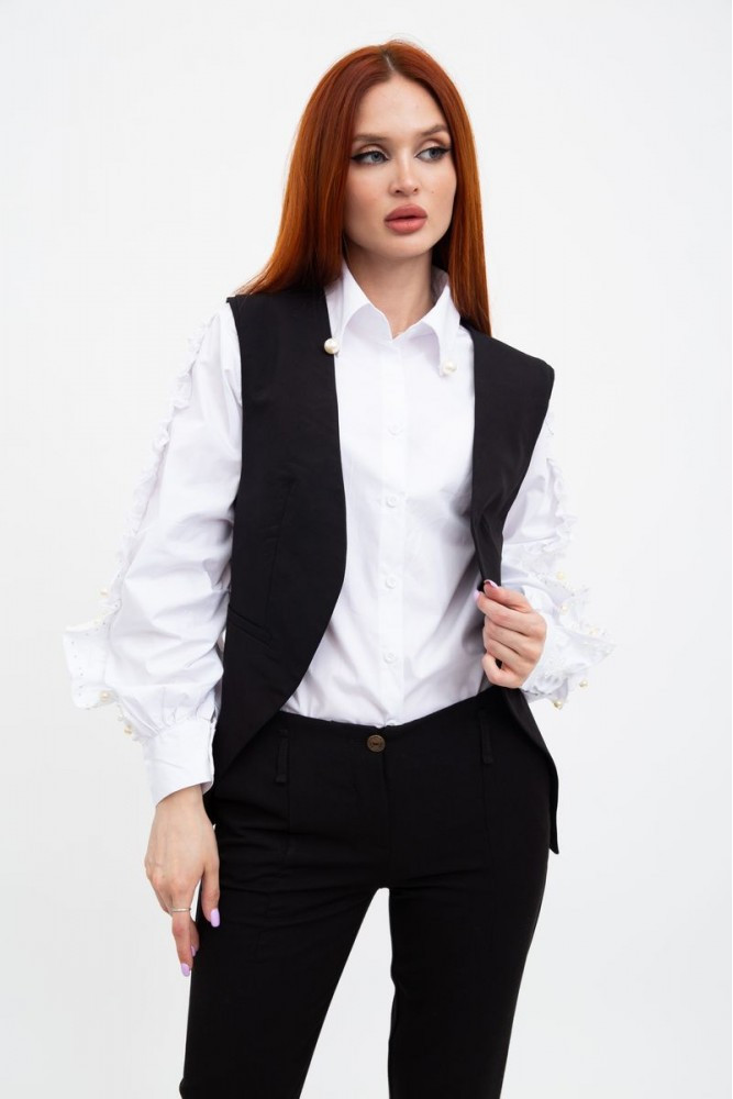 Жилет женский мода цвет Черный