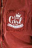 Жилетка женская мода цвет Бордо, фото 5