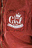 Жилетка жіноча мода колір Бордо, фото 5