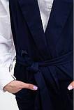 Жилет женский мода цвет Темно-синий, фото 5