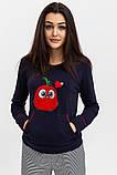 Піжама жіноча колір Синьо-червоний Trendy Moda, фото 4