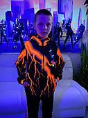 Дитяча світиться вітровка унісекс Brawl Stars Ворон +маска в подарунок