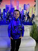 Дитяча світиться вітровка унісекс Fortnite Squad +маска в подарунок