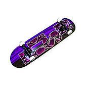Скейтборд деревянный от Fish Skateboard с принтами