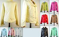 Красивая курточка бежевая, р.42
