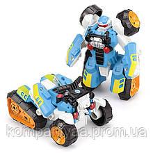 """Детский робот-трансформер """"Квадроцикл"""" 675I (Голубой)"""