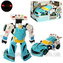 """Детский робот-трансформер """"Автомобиль"""" D622-H04 (Голубой)"""