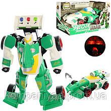 """Детский робот-трансформер """"Автомобиль"""" D622-H045 (Зеленый)"""