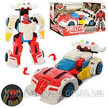 """Детский робот-трансформер """"Автомобиль"""" D622-H047 (Красный)"""