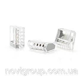 Клема сполучна 5-дротова WAGO К773-255 для розподільних коробок, 5-pin, прозора