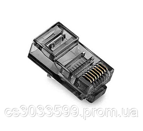 Конектор Ritar RJ-45 8P8C UTP Cat-5 (100 шт / уп.) Q100 Black