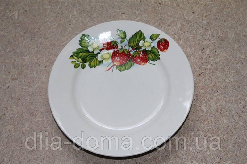 Тарелка мелкая, диаметр 200 мм