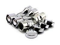 Болты секретные с вращающимся кольцом М12х1.25х26 конус, хром