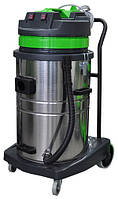 Профессиональный пылеводосос 2-х турбинный 70л. для сухой и влажной уборки.