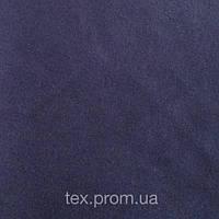 Трикотажное полотно интерлок хб пенье 40/1, темно-синий