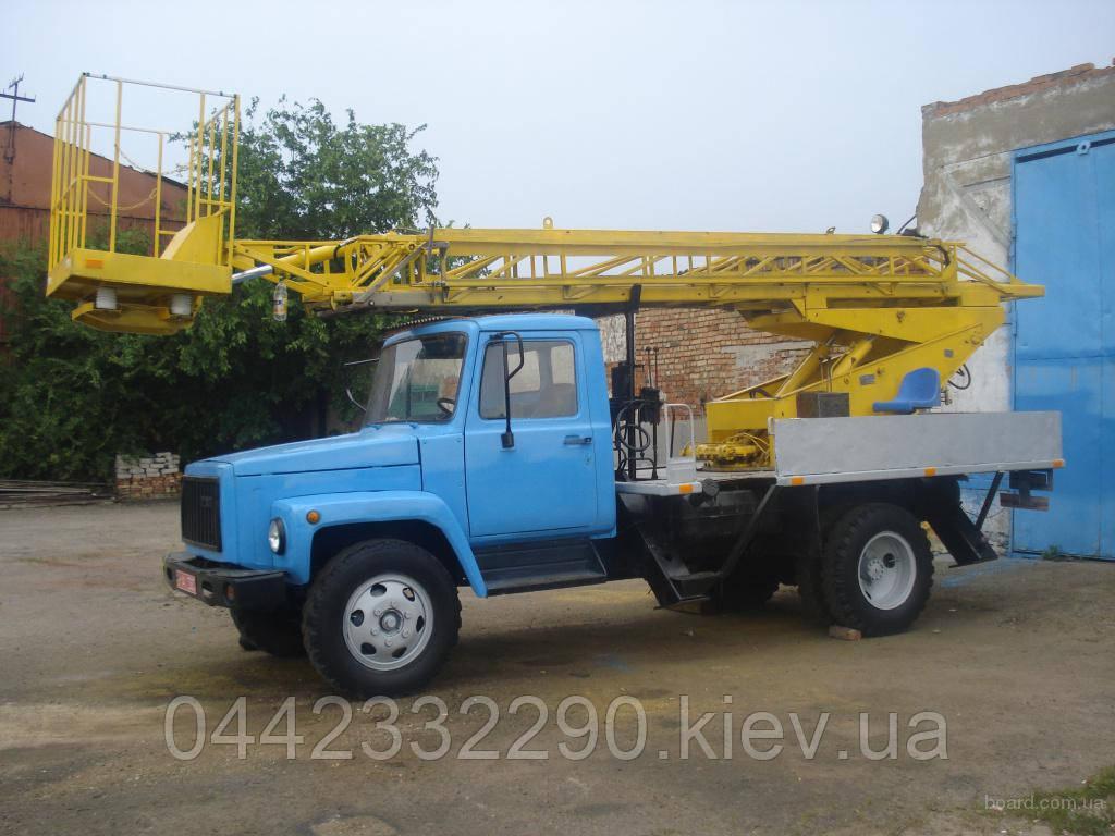 Аренда автовышки телескопической 17 метров (ГАЗ)