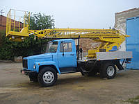 Аренда автовышки телескопической 17 метров (ГАЗ), фото 1