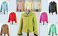 Куртка модного горчичного цвета