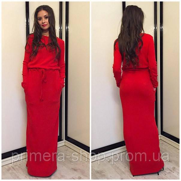 Платье в пол теплое ангора  продажа b68951187b6b1