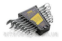 Набор ключей рожково - накидных СИЛА CrV 6-22 мм 12 шт (028441)