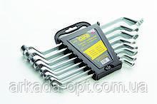 Набор ключей накидных СИЛА CrV 8 шт (049526)