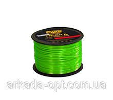 Леска для триммера СИЛА квадрат 2 мм 450 м Зеленый (032225)