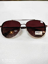 Очки капля солнцезащитные Авиаторы  Matrix Polarized Сонцезахисні поляризаційні стильні чоловічі окуляри