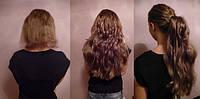 Наращивание волос на капсулах. 150 грамм.