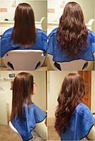 Славянские волосы до и после наращивания