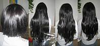 Славянские волосы на капсулах. Цвет #01 Черный