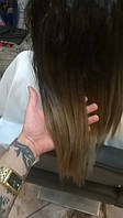 Волосы на капсулах. Цвет #ombre