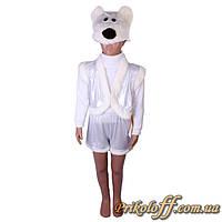 """Детский костюм """"Белый медведь"""", блеск"""