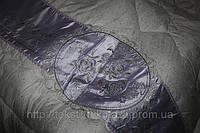 Одеяло двуспальный р-р сатин с атласной вышивкой