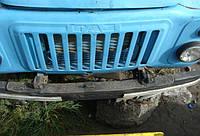 Бампер передний ГАЗ 53, б/у, в хорошем состоянии.
