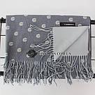 """Кашеміровий двосторонній шарф палантин """"Інеса"""" Cashmere 103008, фото 3"""