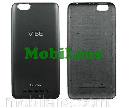 Lenovo A2020, A2020a40, Vibe C Задняя крышка черная, фото 2
