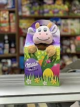 Подарунковий набір солодощів Milka з іграшкою Корівка